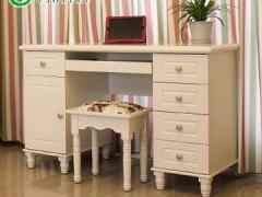 优家优乐609 韩式 田园书桌 欧式风格写字台烤漆学习桌书台