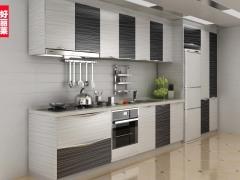 好丽莱 定制整体橱柜整体厨房橱柜定做 石英石台面