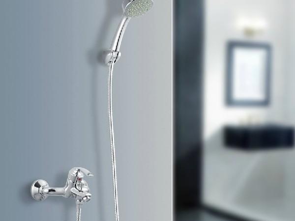 MOEN摩恩全铜挂墙式淋浴花洒套装贝伦93132EC