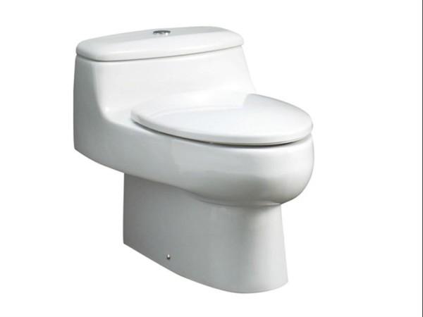 新芝加哥包边连体座厕 水箱配件 地排305mm