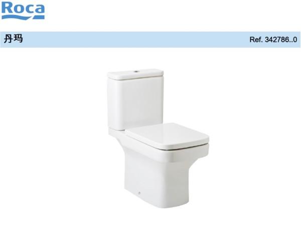 丹玛落地式底座马桶(带阻尼)座便器 分体式座厕