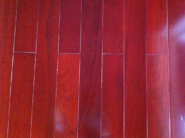 大自然地板实木地板 红檀木 铁线子1091P