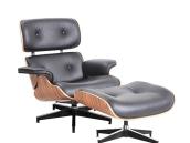 客厅真皮休闲躺椅