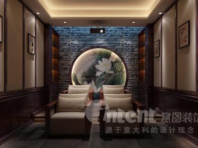 新中式-350平米别墅装修设计