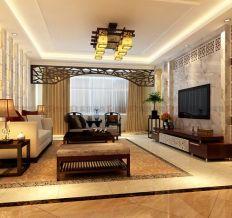 北京城建·琨廷-中式古典-三居室