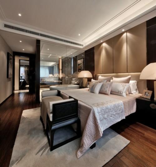 金融街·金色漫香苑-中式古典-二居室