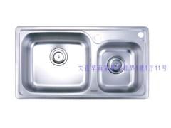 惠达 不锈钢水槽HD8822赠全铜龙头HD112XH