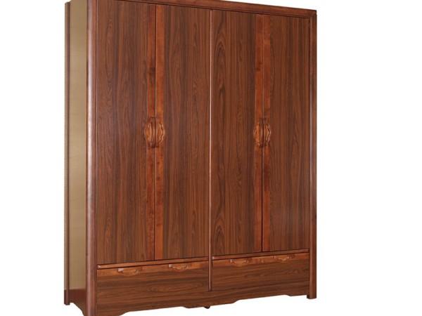 迪诺雅经典紫檀YG-9302 四门衣柜
