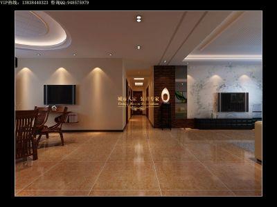 中式古典-189平米四居室装修样板间
