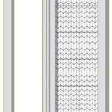 意美达牌折叠定位纱门