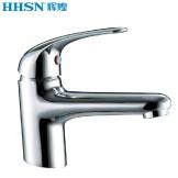 辉煌水暖HH-02002全铜台上盆双孔面盆冷热水龙头