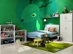 七彩人生 可以画画的卧室家具4件套Y03