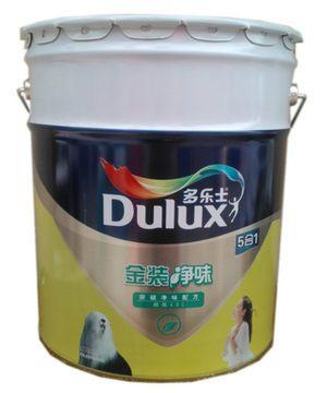 多乐士金装5合1超低VOC净味墙面漆内墙漆