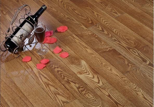 梵戴克木地板 纯实木 白蜡木 零甲醛 18mm