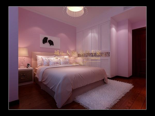 现代简约-108平米三居室-装修样板间
