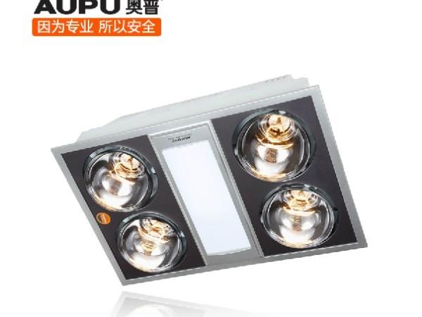 奥普浴霸FDP1011C 灯暖换气多功能集成吊顶薄浴霸