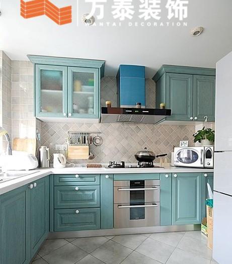济南地中海风格厨房装修样板间图片