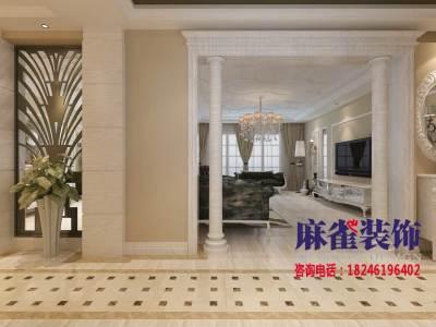 欧美风情-139平米五居室装修样板间