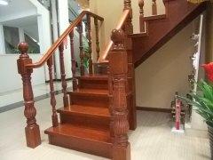 丽特LT-005红橡纯实木楼梯