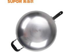 苏泊尔炒锅 FC32U5真不锈2代健康铁锅