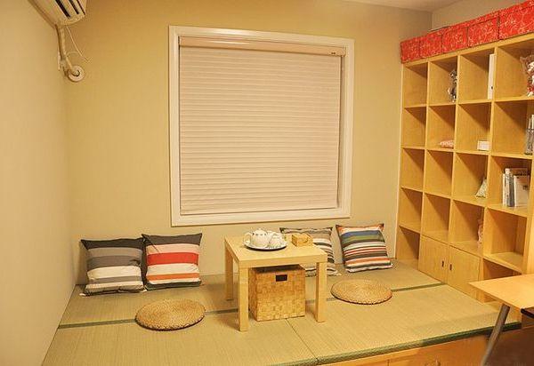 石家庄榻榻米地台装修石家庄众诚和室实木家具书柜衣柜橱柜