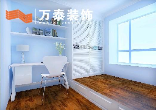 现代简约95平米三居室装修效果图