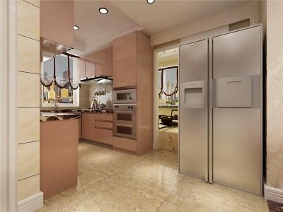 现代简约-110平米二居室装修样板间