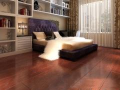 宏耐浮雕复古系列实木复合地板榆木多立克DF416