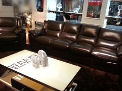 路易时代功能沙发K982 进口奶牛皮 颜色可选择 可躺可摇