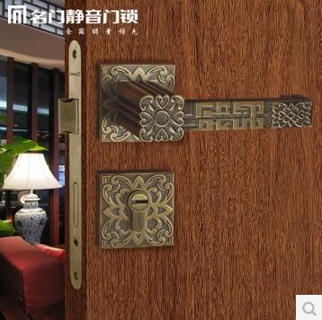 名门正品奢华盛唐系列分体锁KF9595