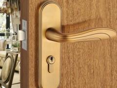 名门F系列家庭室内优质黄古铜执手锁具F0859