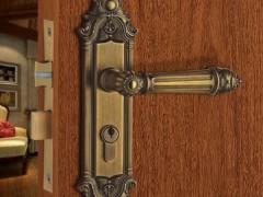名门静音门锁V0909J