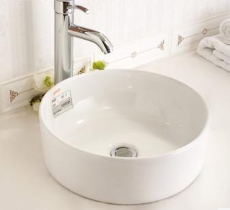 安华卫浴陶瓷洗手台上盆