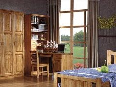 科德贝尔构造简洁典雅的转角书柜