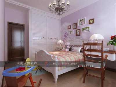 美式风格-179平米三居室装修样板间