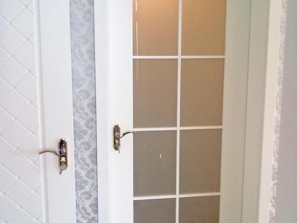 丽特ALT-141白色混油套装门