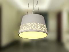 欧普照明 餐厅灯吊灯单头吊线灯MD397 国色天香