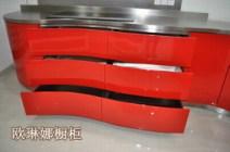 上海欧琳娜不锈钢橱柜公司非标定制纯不锈钢整体橱柜图片
