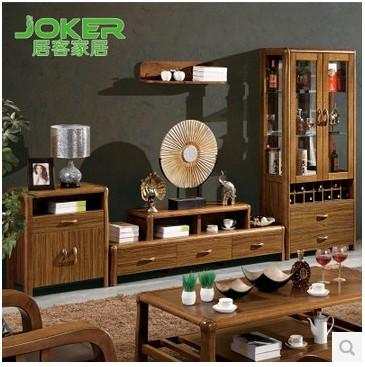 居客电视柜现代中式 虎斑木客厅家具地柜矮柜电视机柜802