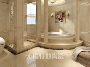 特地陶瓷/现代简约/瓷砖/卫生间/石纹300*600