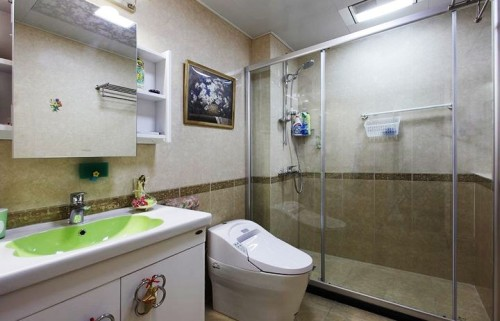 坤泽十里城-田园风格-三居室