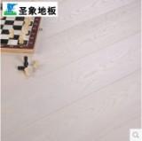 圣象康树三层实木复合地板 10157极地白橡 3.3mm橡木图片