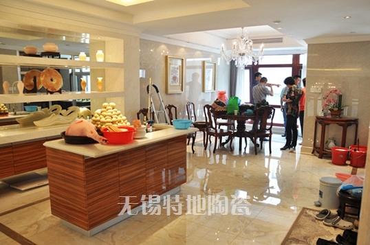 特地陶瓷/客厅/卫生间/背景墙/微晶石/琥珀800*800