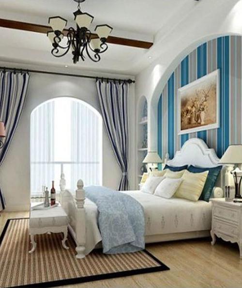 地中海小户型卧室装修图片