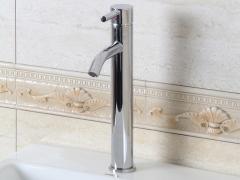 箭牌卫浴ARROW 纯铜镀铬单孔冷热水龙头A1176C