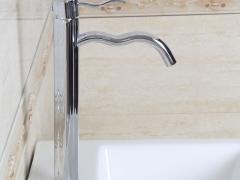 箭牌卫浴ARROW 纯铜镀铬单孔冷热水龙头A81165C