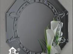 福元素精美雕花浴室镜