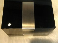 藏典珍匣木质黑色首饰盒(小)