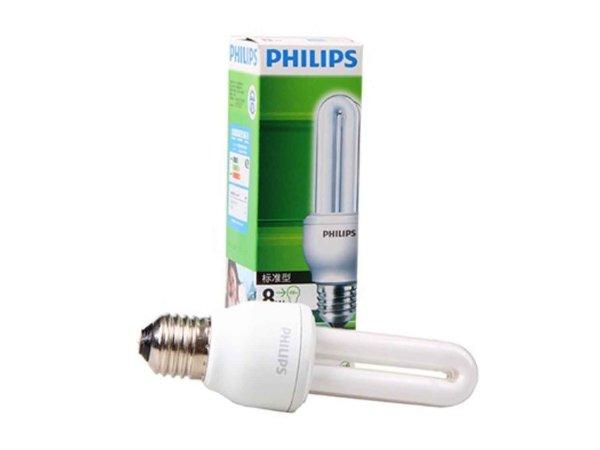 PHILIPS飞利浦标准型节能灯8w/E27(暖光/冷光)