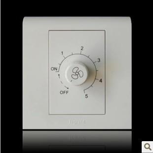 TCL罗格朗开关插座面板 K5经典系列调速开关K5/M3